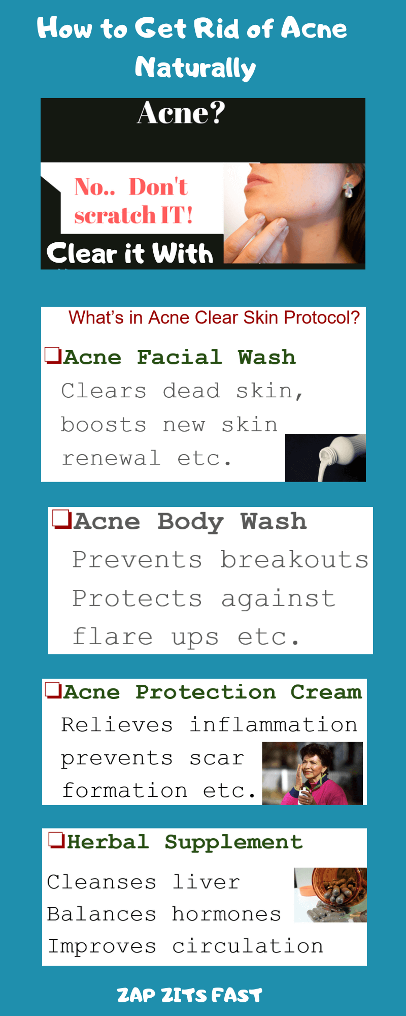 How to get rid of acne, fade acne scars and get a flawless skin