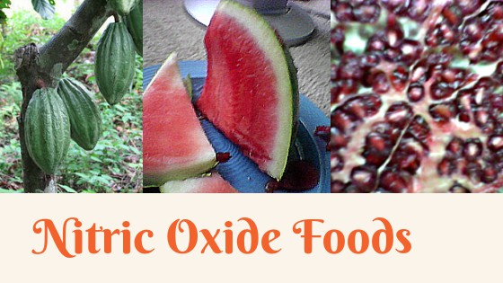 Foods that boost serum nitric oxide